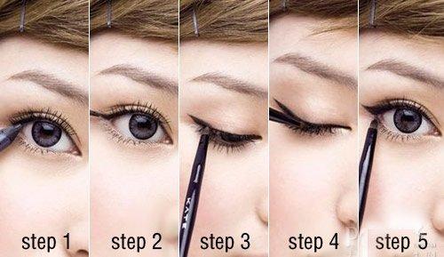 Cách làm mắt to với trang điểm