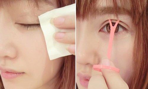 Cách làm mắt to ra tự nhiên với keo kích mí